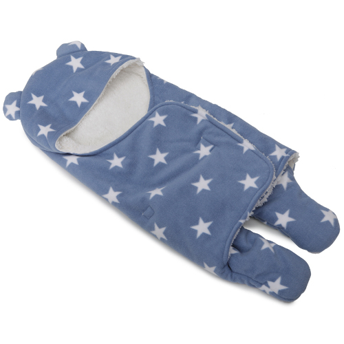 Cangaroo Sac de Dormit Ursulet Cosy Albastru