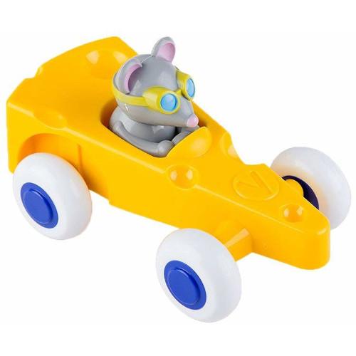 Pilot de Curse Soricel in Masinuta Cascaval Cute Racer