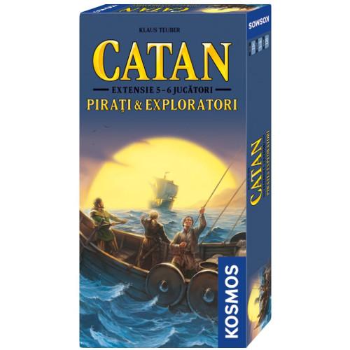 Kosmos Colonistii din Catan – Extensie Pirati si Exploatori 5-6 Jucatori