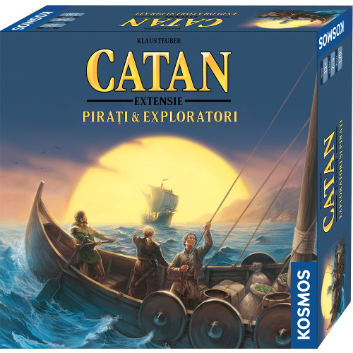 Kosmos Colonistii din Catan – Extensie Pirati si Exploratori 3-4 Jucatori