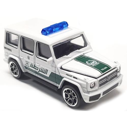 Masinuta Politie Dubai Brabus B63 S, Scara 1:64