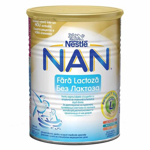 Nestle Lapte Praf NAN Fara Lactoza, 400 g