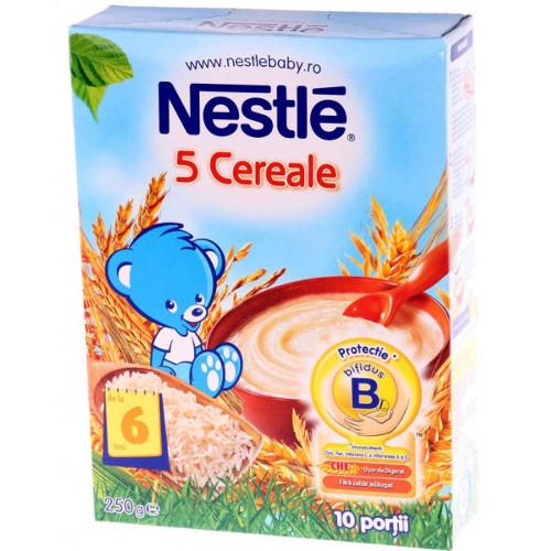 5 Cereale, 6 luni+, 250 g