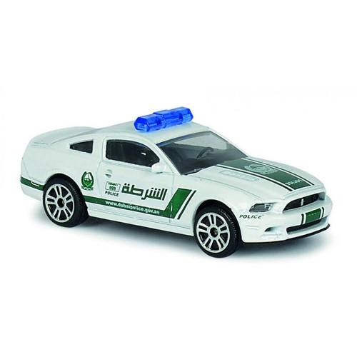 Masinuta Politie Dubai Ford Mustang, Scara 1:64