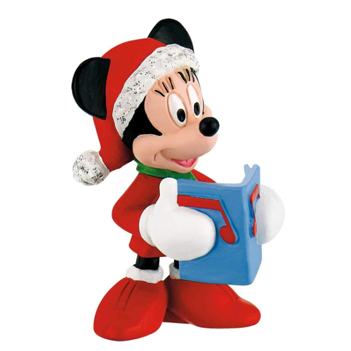 Bullyland Figurina Minnie Mouse Craciun