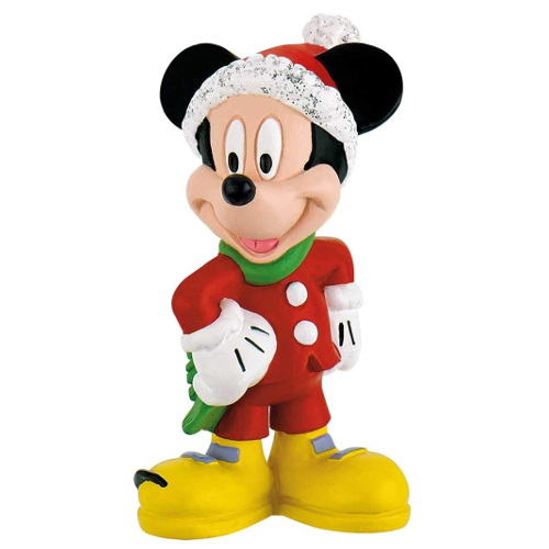 Bullyland Figurina Mickey Mouse Craciun
