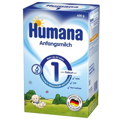 Humana Lapte Praf Humana 1, 600 g