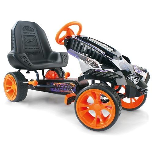 Hauck Kart cu Pedale Nerf Battle Racer
