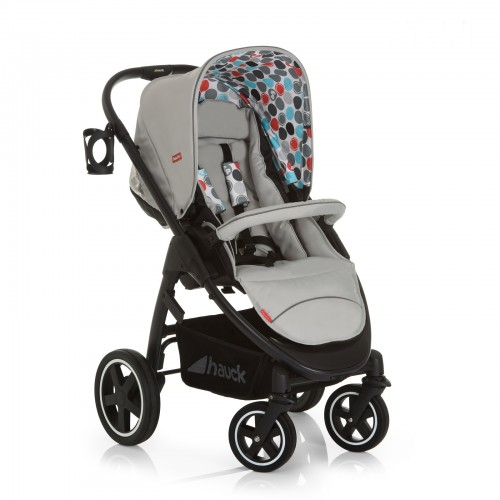 Hauck Carucior 3 in 1 Montreal Plus Easy Travel Gumball Grey