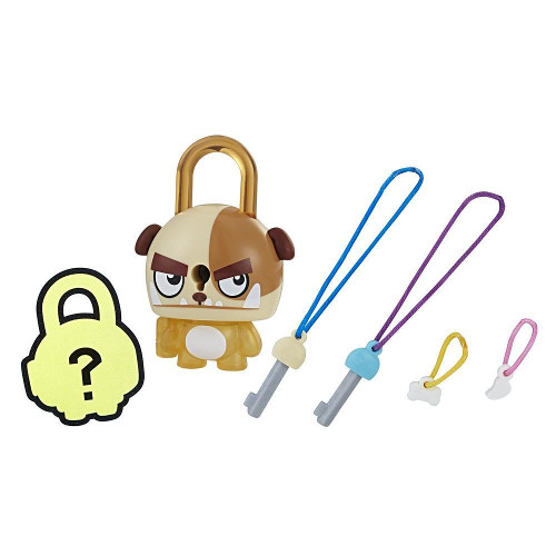 Hasbro Figurina Lock Stars Brown Dog, Seria 1