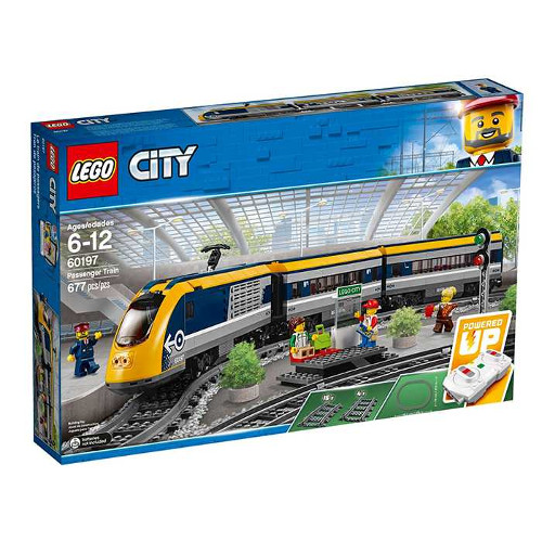LEGO City Tren de Calatori, 60197