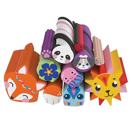 Maya Toys Set Rezerva Betisoare Colorate Cutie Stix cu Animale