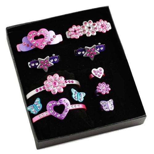 Diamant Toys Set Creatie Fashion Time Cercei Fantezie si Agrafe de Par