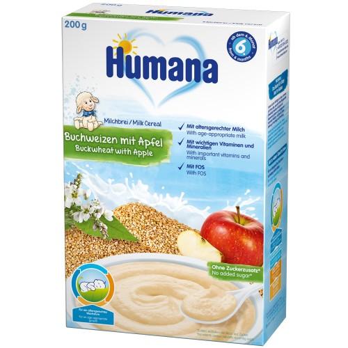 Cereale Humana cu Gust de Mar si Hrisca, 6 luni+, 200 g thumbnail