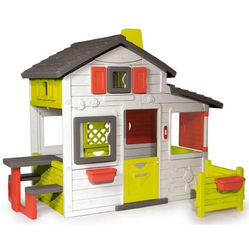 Casuta pentru Copii Friends Playhouse cu Gradina