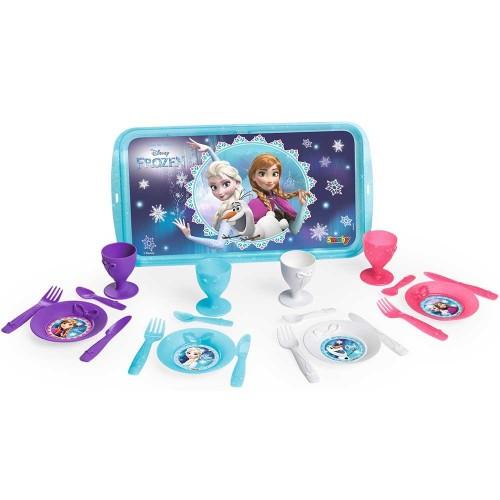 Smoby Tava Frozen cu 21 Accesorii