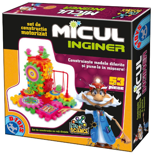 D-Toys Micul Inginer 53 Piese