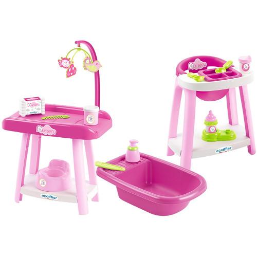 Set Scaun de Masa, Cadita si Masuta de Infasat Nursery