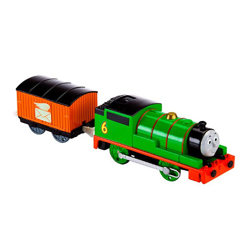 Locomotiva Thomas and Friends Motorizata Percy thumbnail