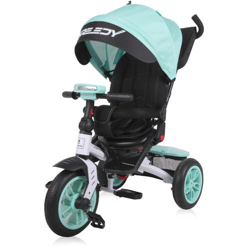 Tricicleta Multifunctionala 4 in1 Speedy, cu Scaun Rotativ si Roti cu Camera, Colectia 2019