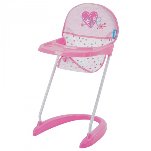 Scaun Servit Masa Papusi Doll Hight Chair Love Heart