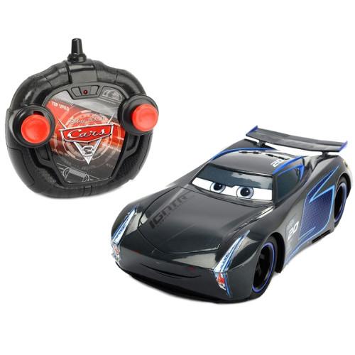 Masina Cars 3 Turbo Racer Jackson Storm cu Telecomanda thumbnail
