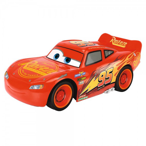 Masina Cars 3 Crash Car Lightning Mcqueen cu Telecomanda