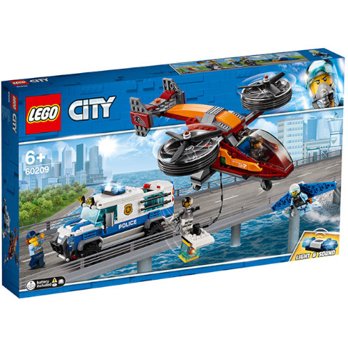 LEGO City Furtul Diamantelor cu Politia Aeriana 60209