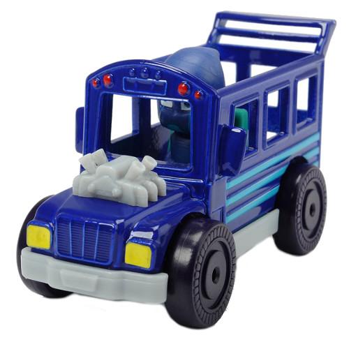 Masina Eroi in Pijamale Night Ninja Bus cu Figurina