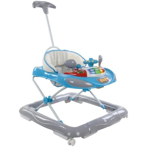 Premergator cu Control Parental Super Car Albastru cu Gri