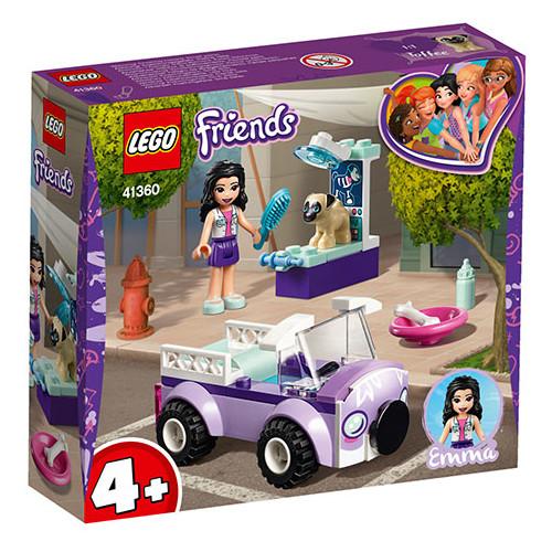 LEGO Friends Clinica Veterinara Mobila a Emmei 41360
