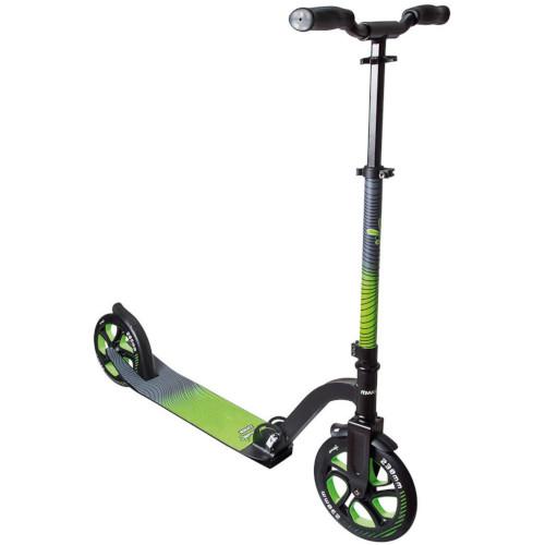 Trotineta Pliabila din Aluminiu Scooter Pro cu Ghidon Ajustabil si Diametrul Rotii 230 mm Verde