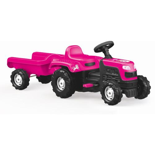 Tractor cu Pedale si Remorca - Unicorn thumbnail