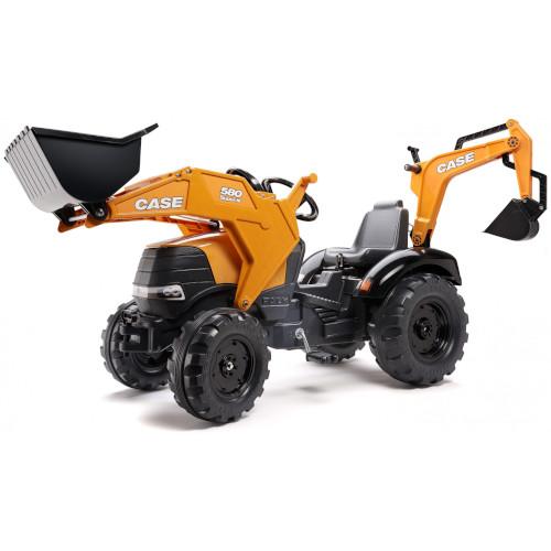 Tractor Case IH 580 Super N cu Excavator si Cupa thumbnail