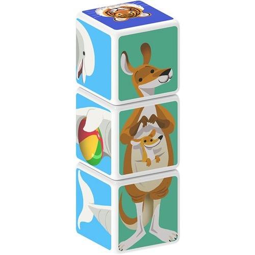 Set Constructie Magnetic Magicube Animale