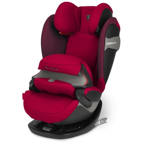 Scaun Auto Pallas S-Fix Scuderia Ferrari Racing Red, 9-36 kg