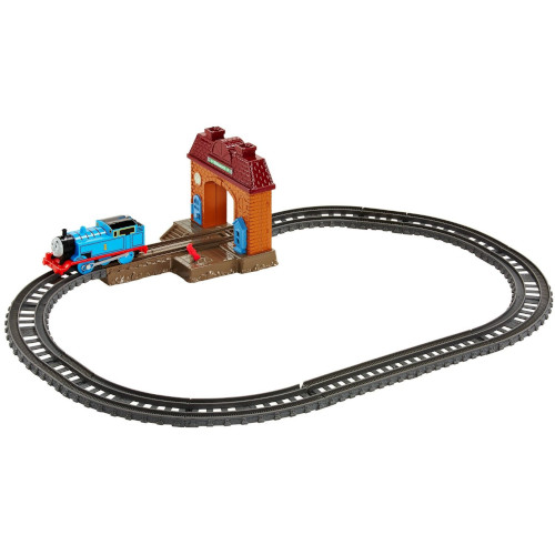 Set 2 in 1 Locomotiva Motorizata cu Sine Thomas and Friends Trackmaster thumbnail
