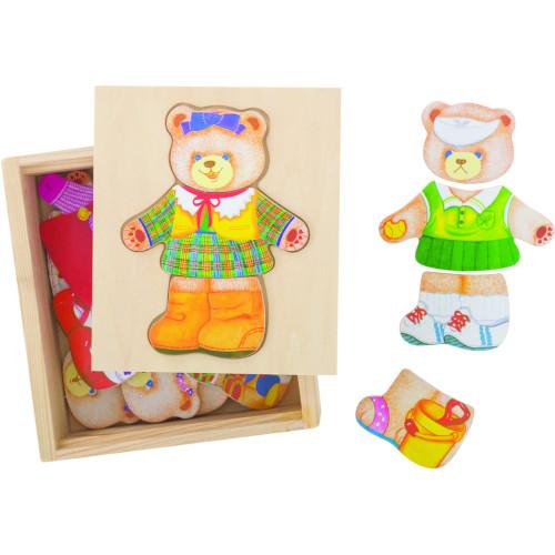 BigJigs Toys Joc de potrivire – Doamna Urs