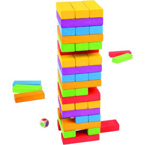 BigJigs Toys Joc de Indemanare – Turnuletul Instabil