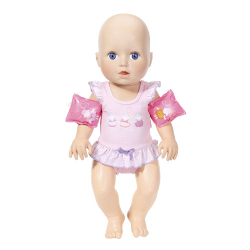 Papusa Baby Annabell Invat sa Inot