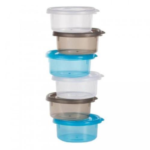 Set 6 Mini Caserole pentru Stocarea Mancarii pentru Bebelusi
