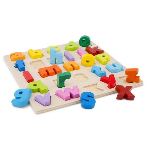 New Classic Toys Puzzle Alfabet cu Litere Mici