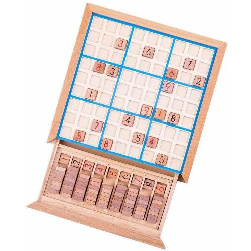 BigJigs Toys Joc din Lemn Sudoku