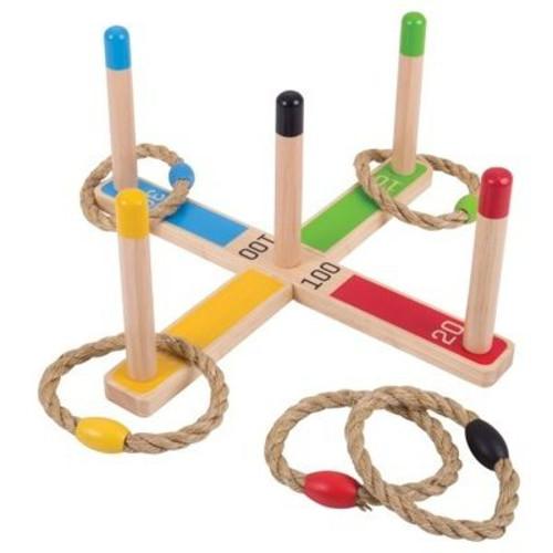 BigJigs Toys Joc de Aruncat la Tinta – Inele