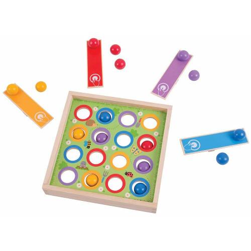 BigJigs Toys Joc de Indemanare – Bilute Saltarete
