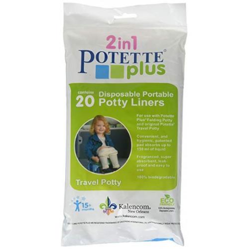 Pungi Biodegradabile de Unica Folosinta pentru Potette Plus 20 buc