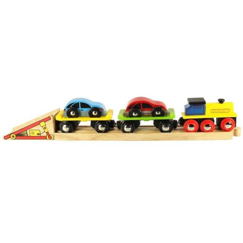 Trenulet cu Platforma Auto thumbnail