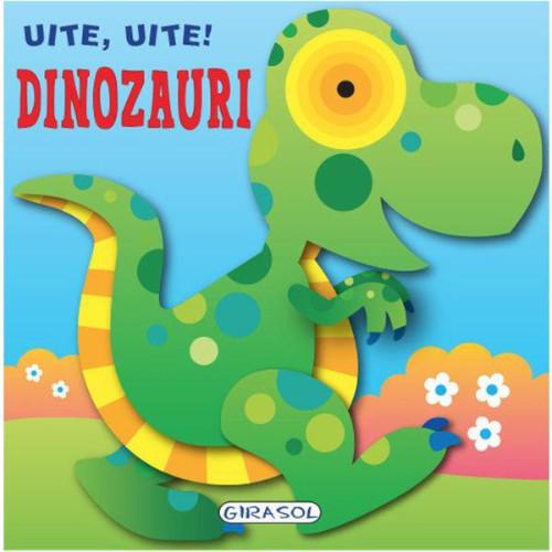 Carte Ilustrata Uite, Uite! Dinozauri thumbnail