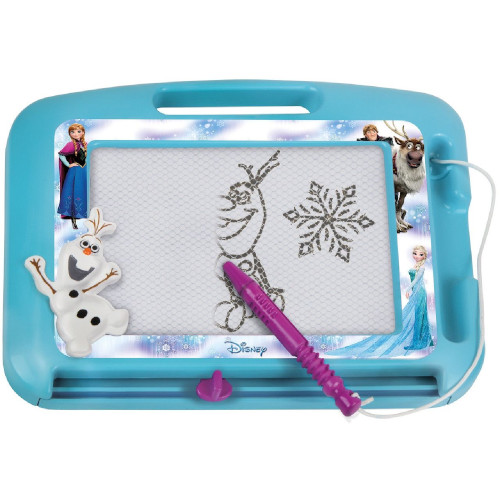 Tablita Magnetica pentru Desen Frozen cu Creion Inclus