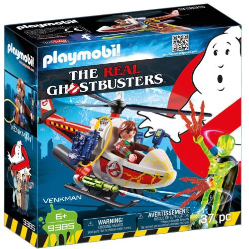 Set de Constructie Ghostbuster - Venkman si Elicopter
